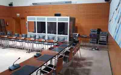 ISO4043 interpretation booths