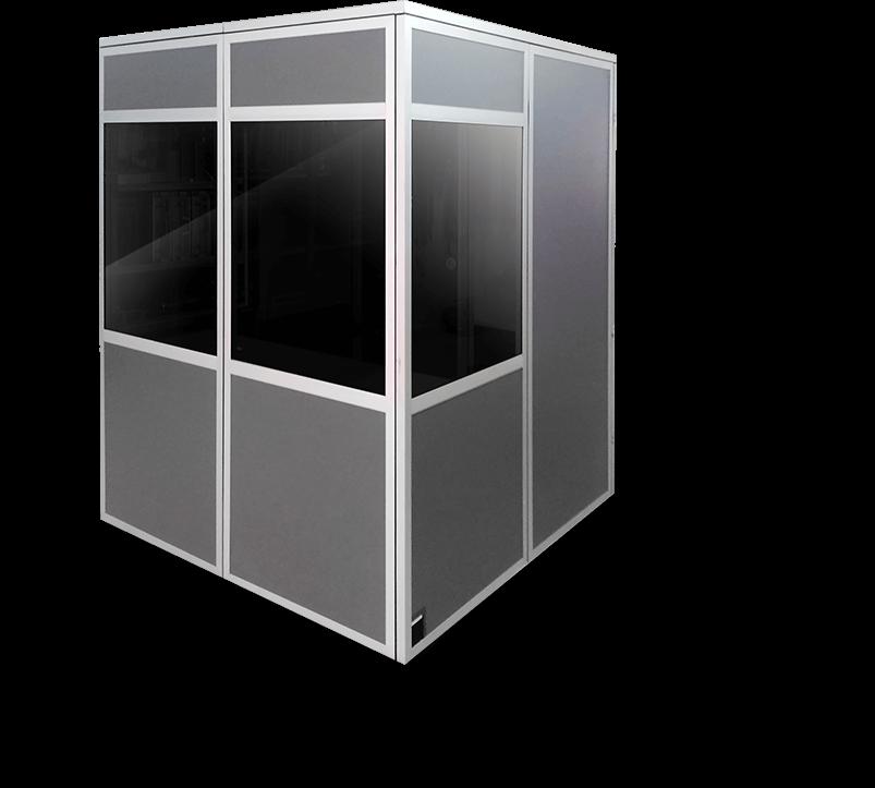 material audiovisual: cabina iso4043