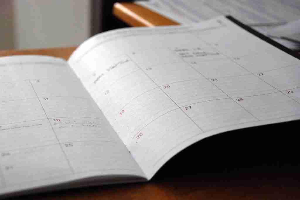 calendario convención