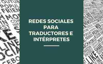 Redes sociales para traductores e intérpretes