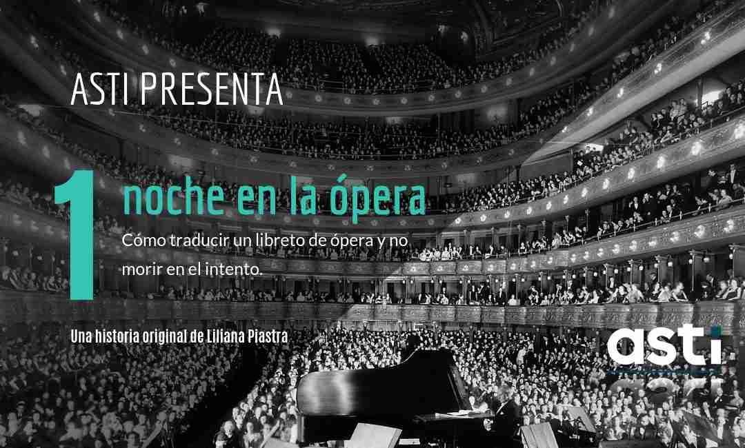 traducción libreto de ópera