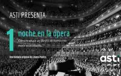 La traducción de un libreto de ópera