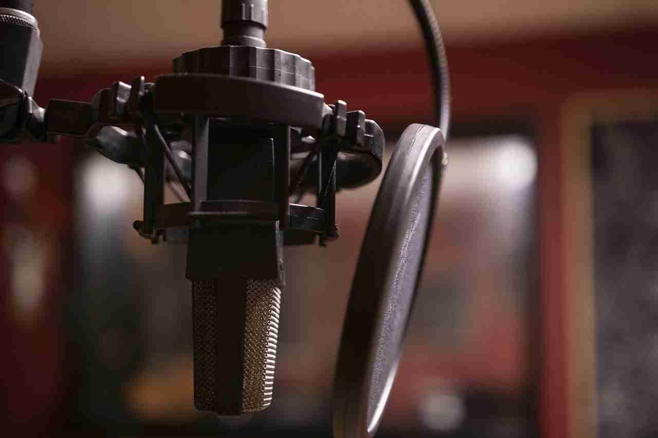 estudio de grabación en casa