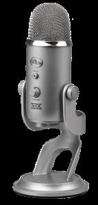 micrófono de interpretación remota