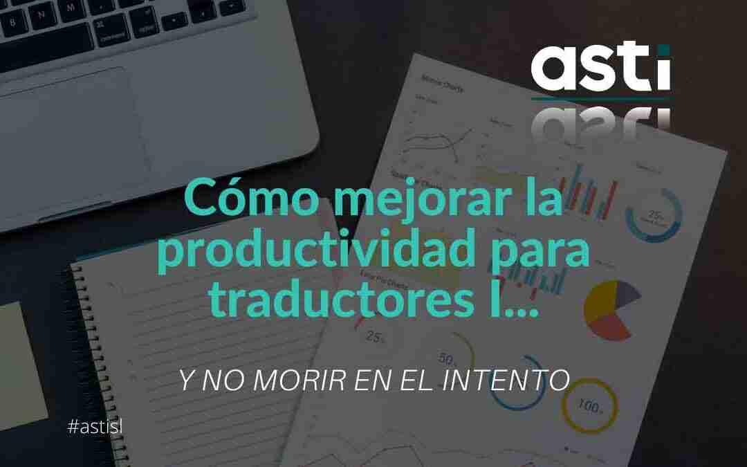 productividad para traductores