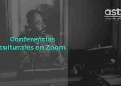 Ciclo de conferencias culturales en Zoom