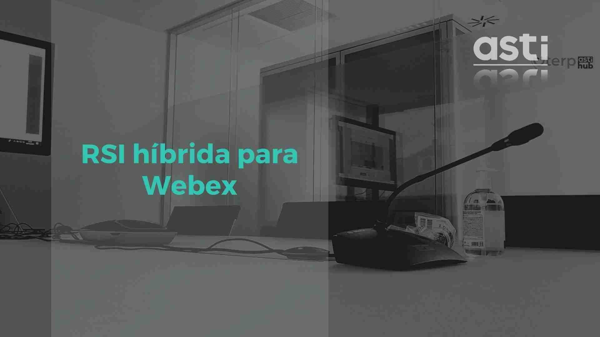 traduccion simultanea remota hibrida para webex